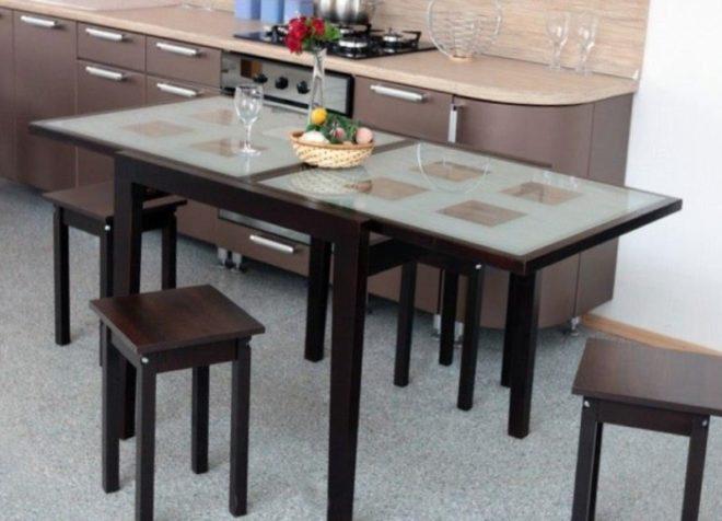стол-трансформер на кухню