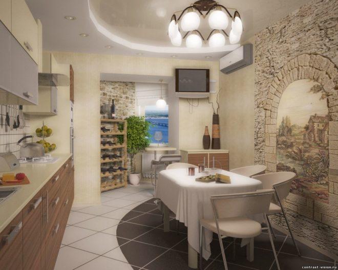 Декоративный камень в интерьере: отделка квартиры
