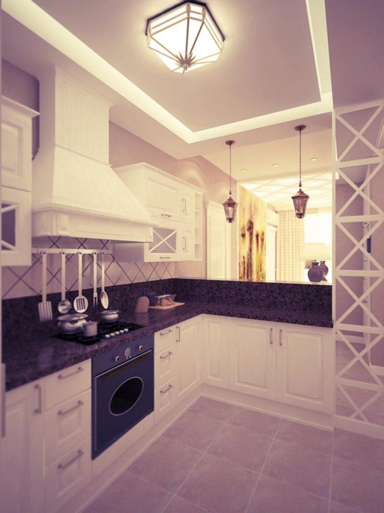 кухня 11 кв м в стиле прованс