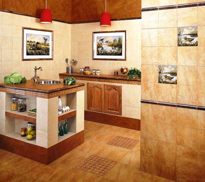 декор стен в деревянном доме
