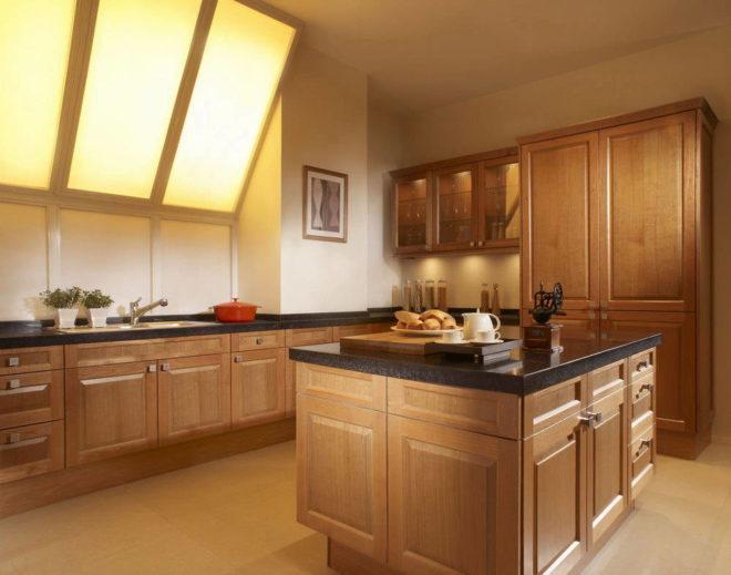 кухня своими руками из мебельных щитов фото