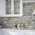 плитка на фартук кухни