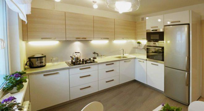 Дизайн кухни 12м фото