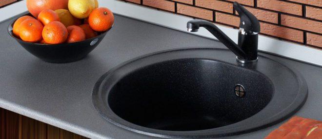 мойка для кухни их камня