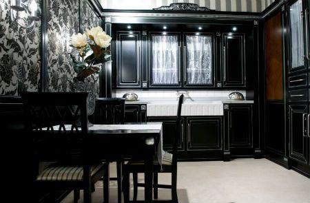 черная кухня классика
