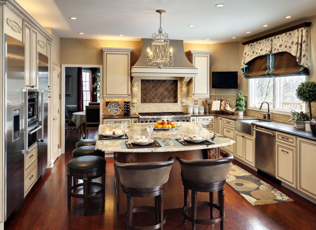 преимущества кухни-столовой