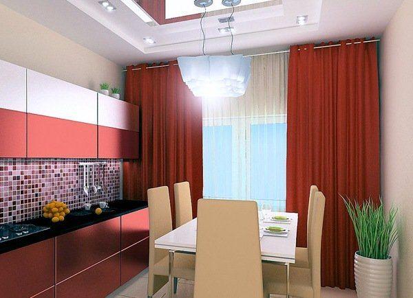 кухонный интерьер минимализм