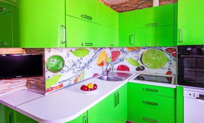 выбор зеленой кухни