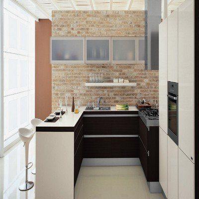 кухня 8 кв хайтек