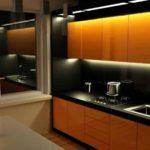 кухня в стиле минимализм 8 кв