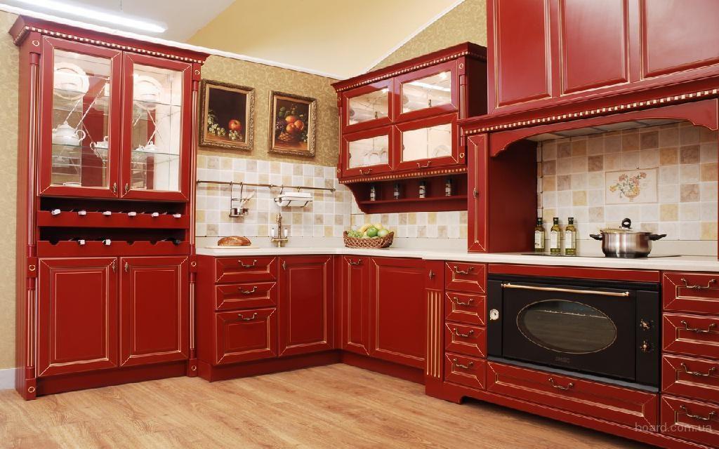 красная кухня прованс