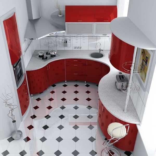 кухня 8 кв метров