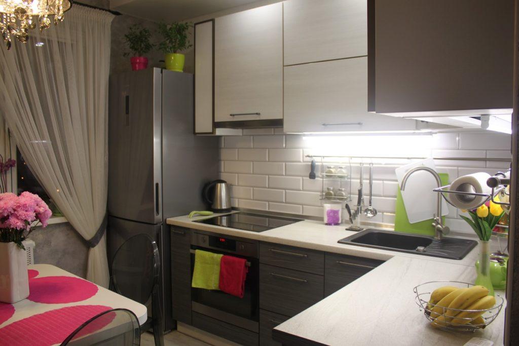 Идеи ремонта на кухне 7 кв.м фото