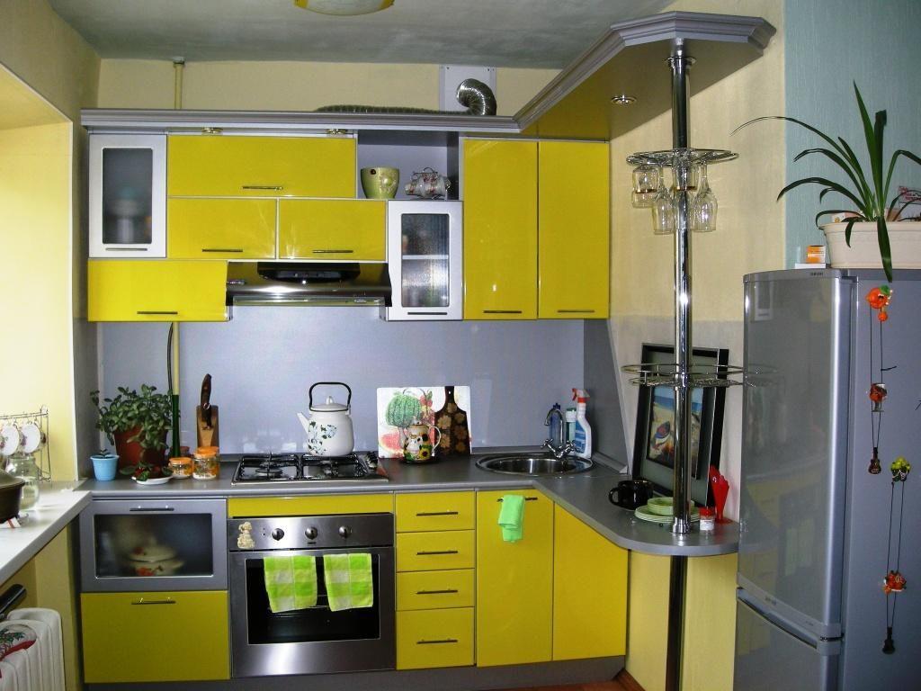 кухня 8 кв решения