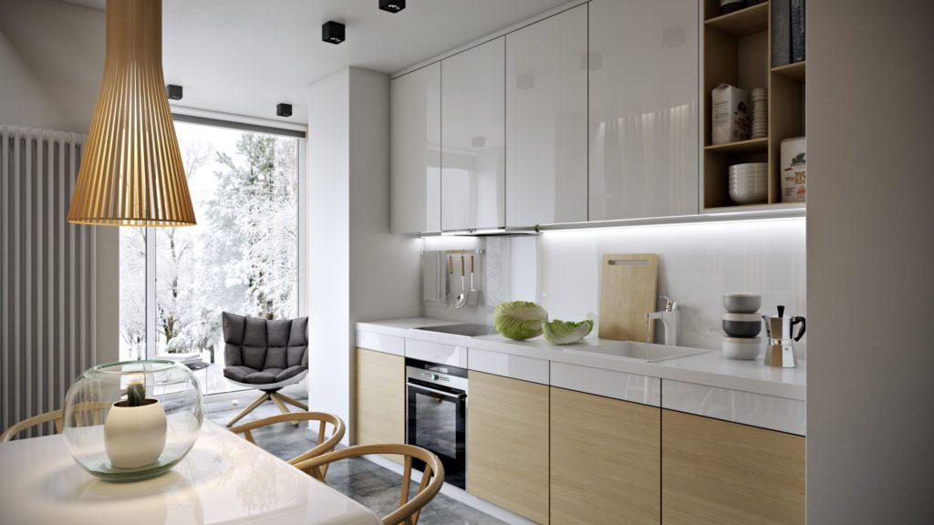 Идеи для кухни, совмещенной с балконом