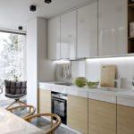 кухня с балконом 2