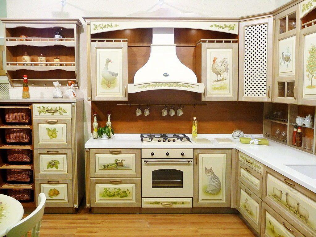 Декорирование кухни своими руками