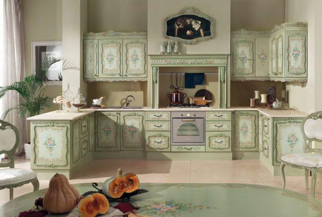 Декорирование кухни своими руками 1