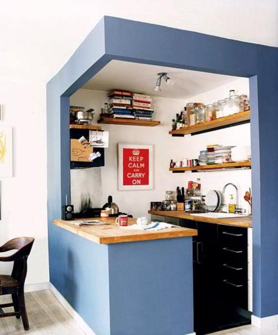 Современные решения в кухонной мебели
