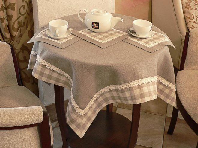 Текстиль для кухни своими руками 2
