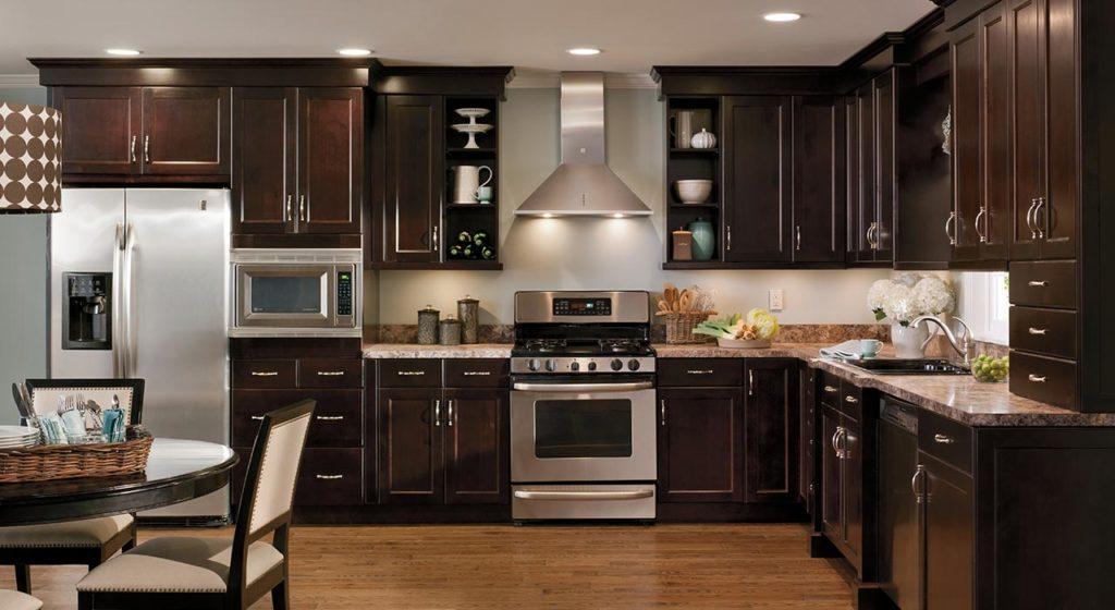 Дизайн стильной кухни 3х3 метра