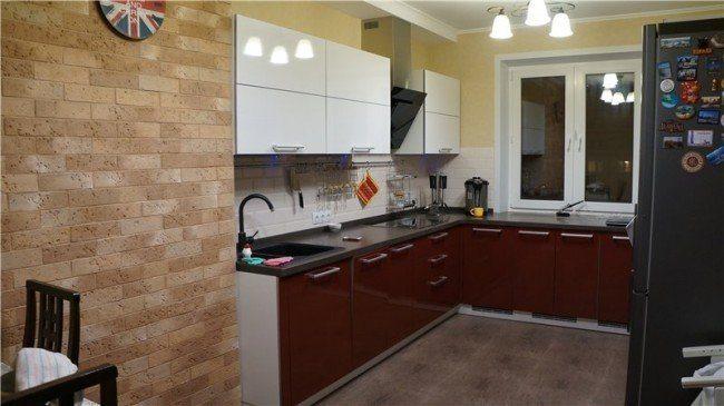 Элементы лофт в дизайне кухни 3 на 3 метра