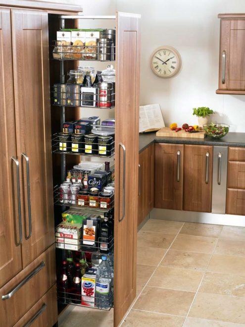 потайные шкафчики на кухню 2