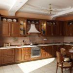 классический стиль кухни 1