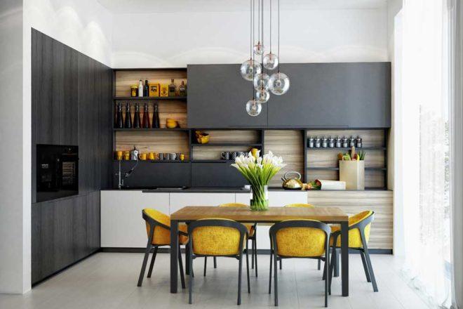 кухни 12 кв. метров