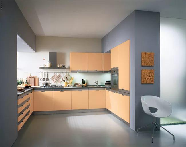 Персиковая кухня 1