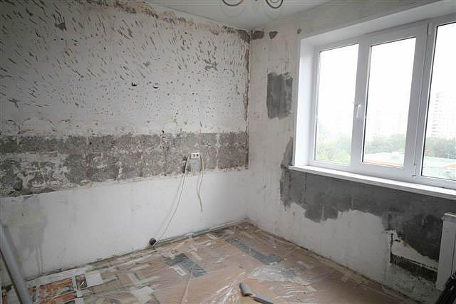 Этап ремонта кухни 12 кв м
