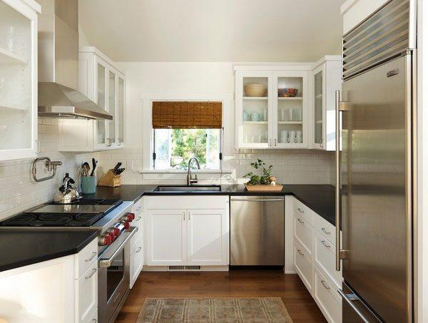 П-образная планировка кухни