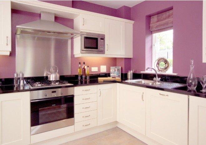 Каким цветом покрасить стены на кухне