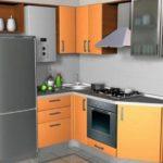 Встраиваемая техника на маленькой кухне