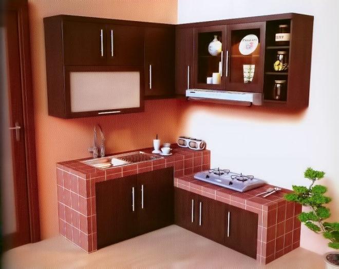 Компоновка модульных элементов кухни