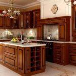 Стандартные размеры кухонных шкафов: глубина и высота