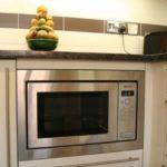 Куда поставить микроволновку в маленькой кухне: фото, интересные идеи