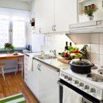 Как красиво обустроить маленькую кухню: секреты и нюансы, советы дизайнеров