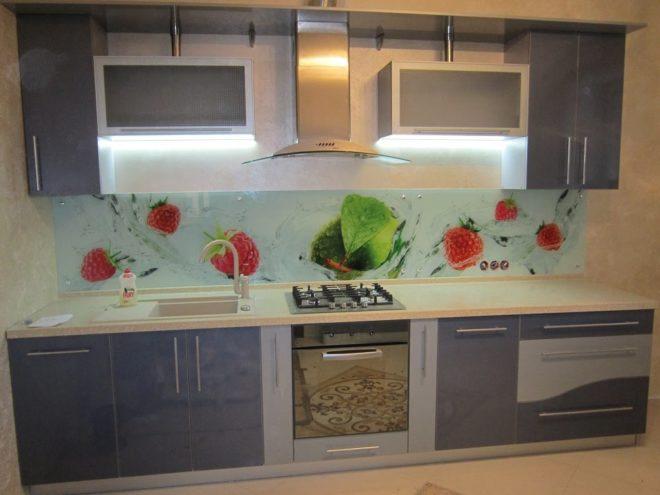 Освещение кухни LED панелями