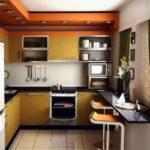 Правильное обустройство маленькой кухни
