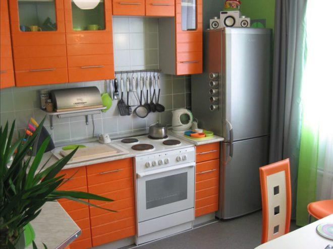 Уютное обустройство небольшой кухни