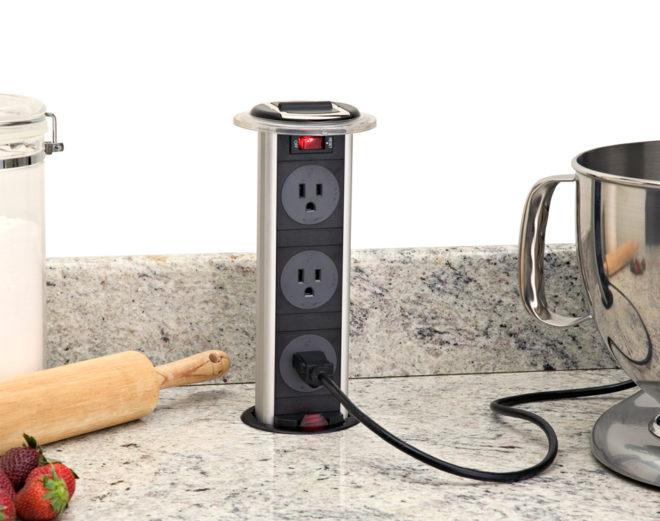 Где установить розетки на кухне в хрущевке