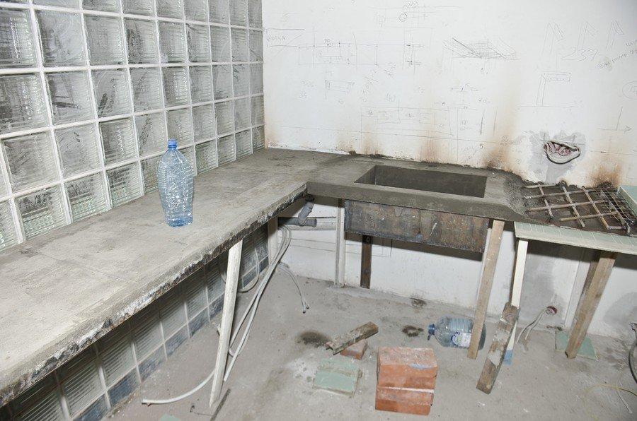 Столешницы для кухни своими руками из бетона