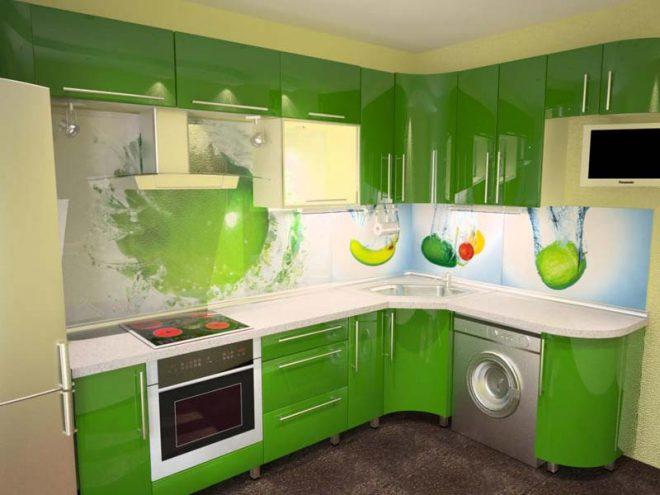 Кухонный фартук из пвх-панелей