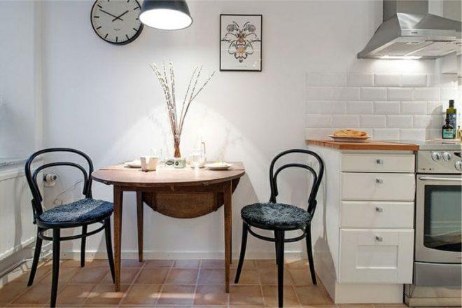 Раздвижной стол на кухню: круглые, прямоугольные