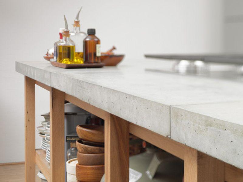 Купить белый бетон для столешницы грибок на бетоне