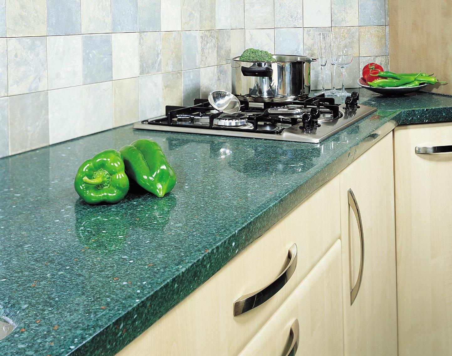 Столешница для кухни материалы Стол из искусственного камня Staron Сменки
