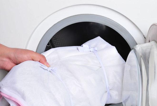 Стирка тюли в стиральной машинке
