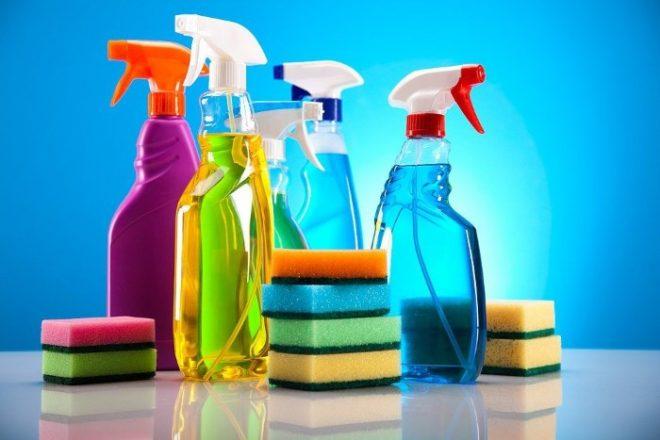 Бытовая химия для очищения духового шкафа