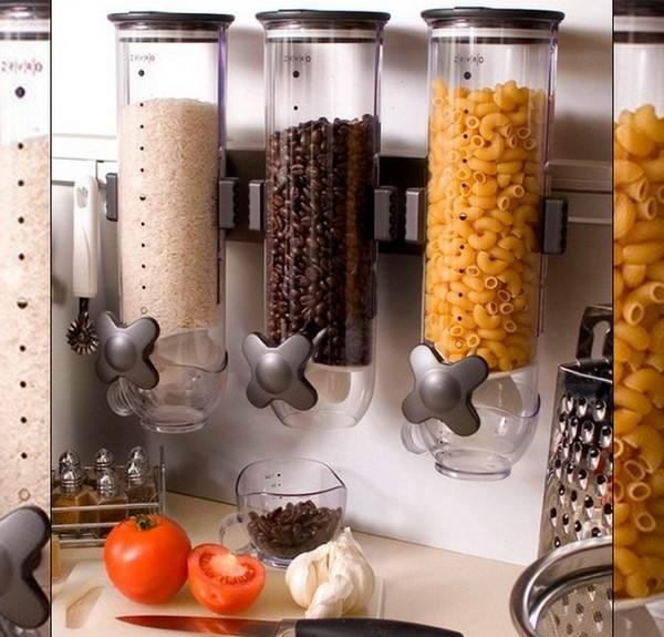 Декорация кухни банками